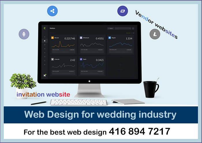 web design for wedding