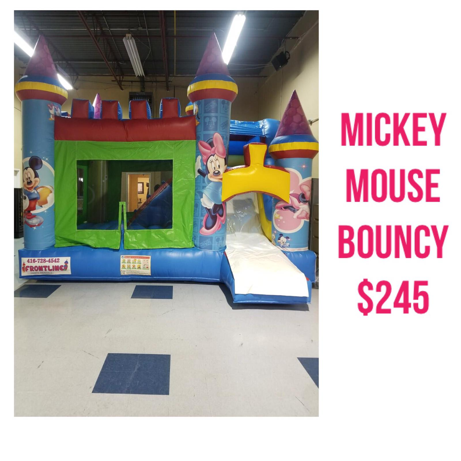 party rental and bouncy castles